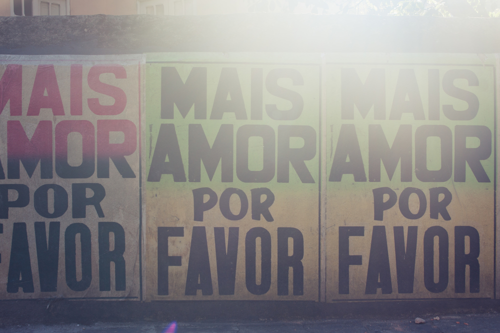 Brazil, Rio de Janeiro, Landscape, Travel photography, architecture, Santa Teresa, street photography, graffiti, Mais Amor Por Favor