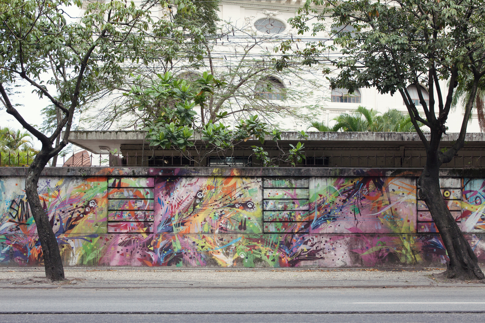 Brazil, Rio de Janeiro, Landscape, Travel photography, architecture, street photography, street art, graffiti