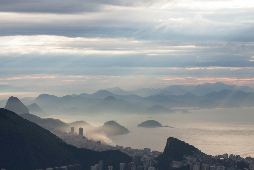Rio de Janeiro, Brazil, landscape, travel photography, Two Brothers, Dos Irmaos, sunrise, Copacabana