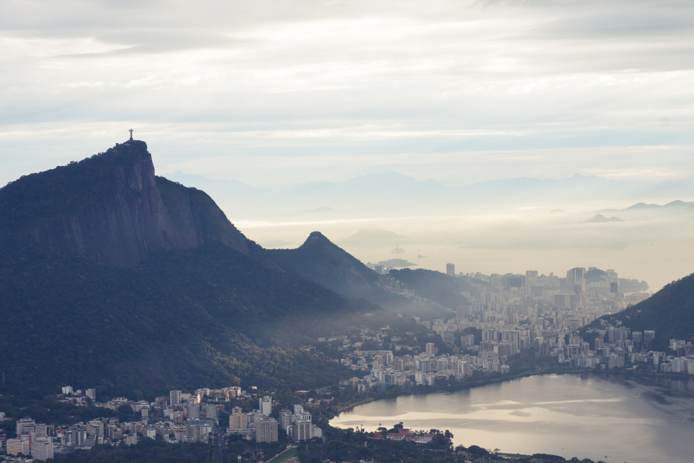 Rio de Janeiro, Brazil, landscape, travel photography, Two Brothers, Dos Irmaos, sunrise