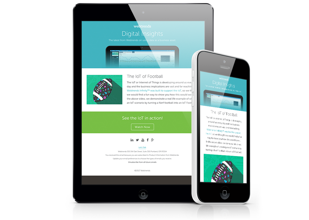 Digital Insights: Responsive email / newsletter design.
