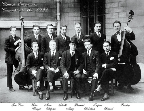 Paris Conservatoire 1922