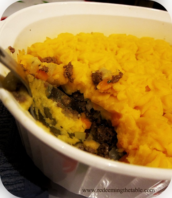 Paleo Shepherd's Pie (technically Cottage Pie)
