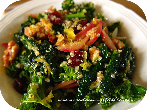 Kale-Quinoa Salad
