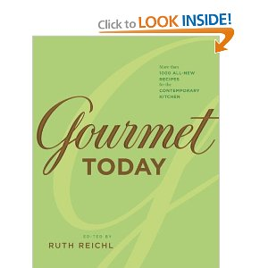 Gourmet (Green Cover) : In this cookbook, you'll find an assortment of meat, fish, vegetables, soups, desserts.  I used this cookbook quite extensively years back and have loved it.