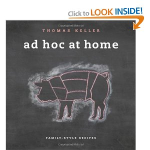 Ad Hoc at Home : Thomas Keller is probably the best chef in America.  I made his version of homemade oreos --amazing.  I love the homestyle, non-fussy, yet incredibly amazing recipes he offers in this book.  Comfort food!