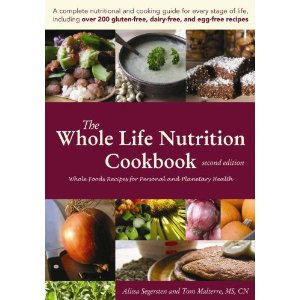 The Whole Life Nutrition Cookbook : Gluten, soy, egg-free book is amazing.  They have a new cookbook as well that I have and love how passionate Tom & Alissa are about nutrition, food, and where it comes from and how it affects our bodies.  If you suffer from so many food allergies, this is a must book.