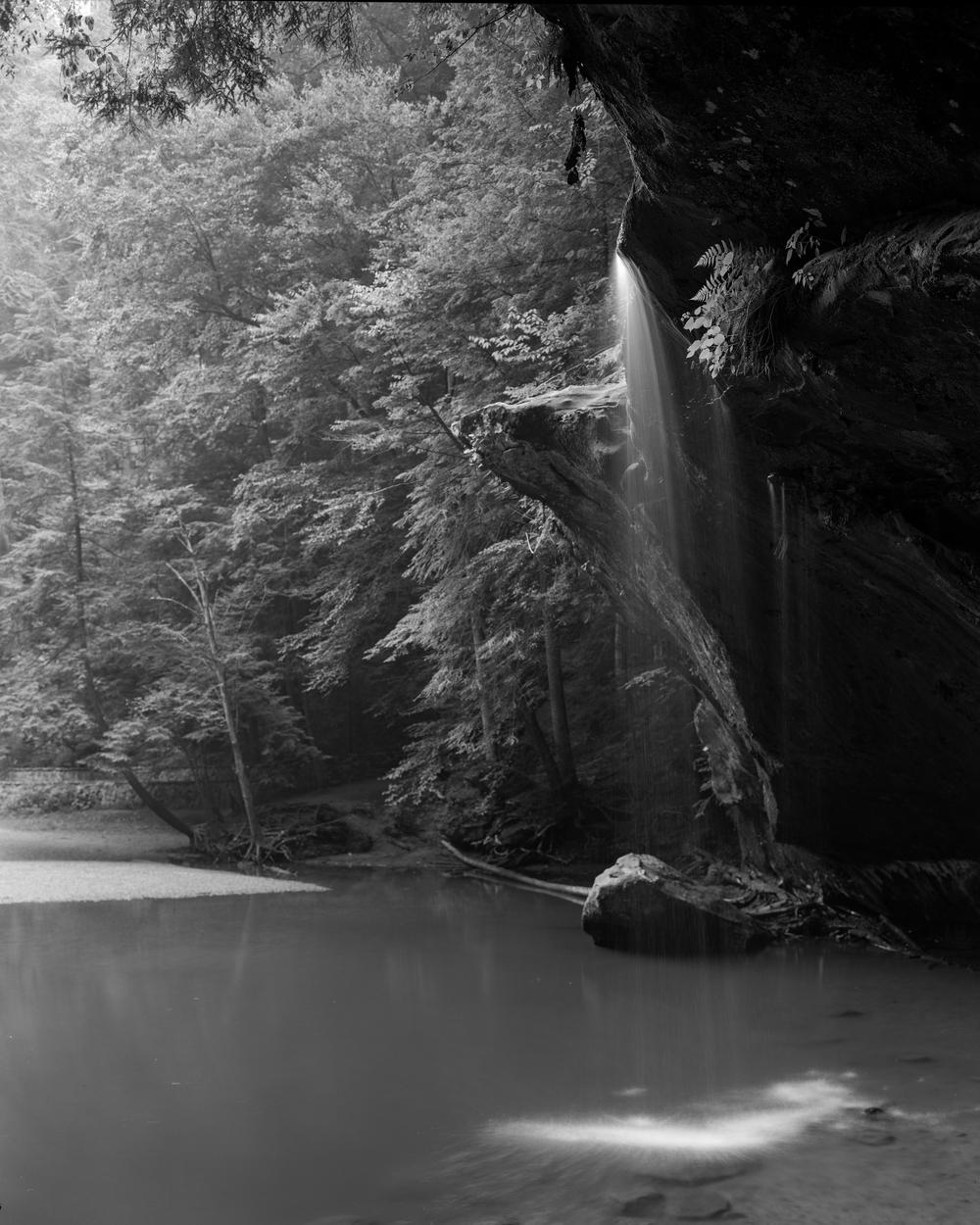 Underneath Lower Falls