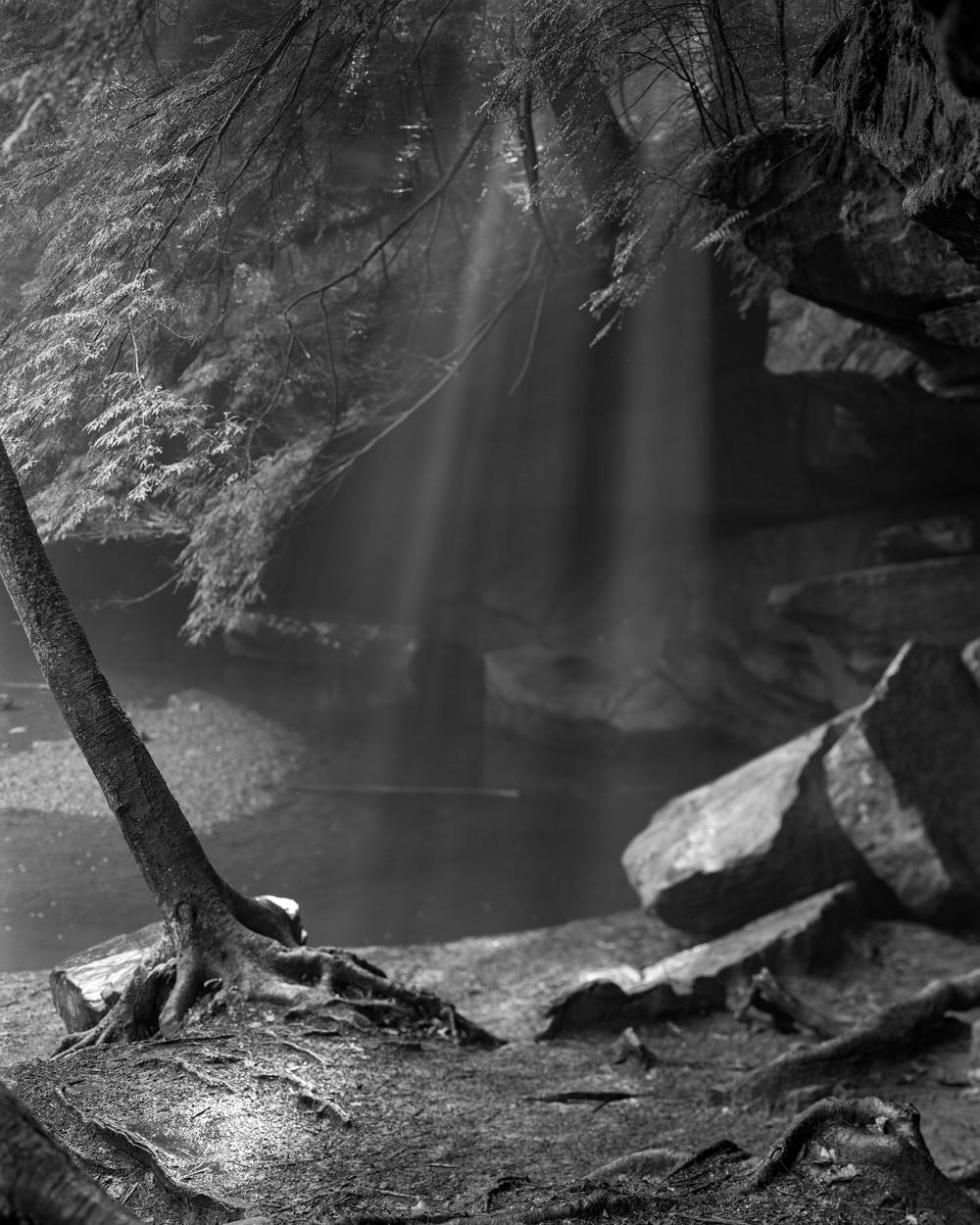 Streaming Light, Cedar Falls