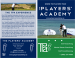 The Players Academy    2012   Written descriptions, website copy and marketing materials