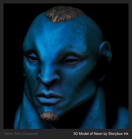 3D Model of Neon