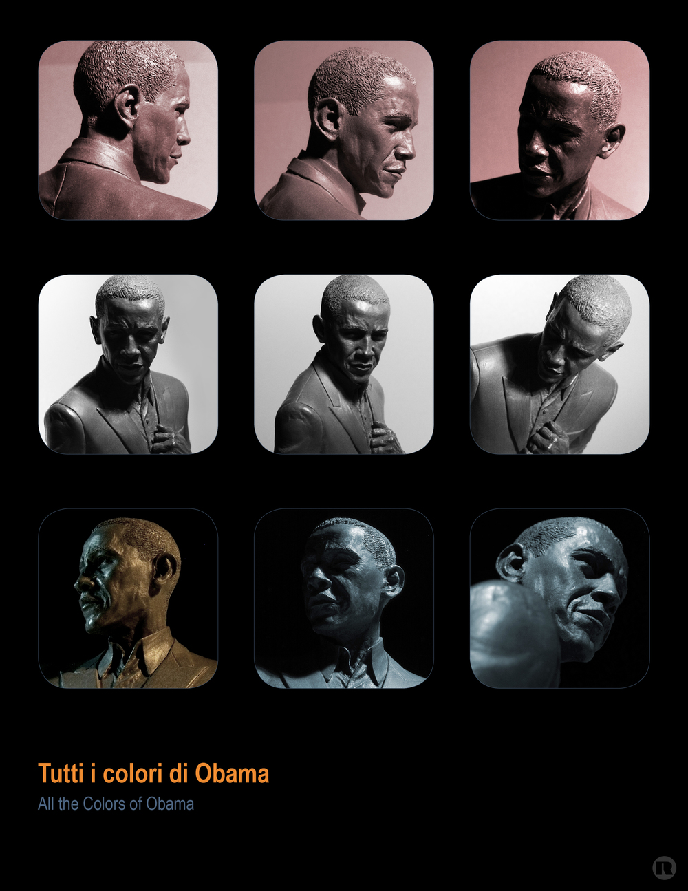 Tutti i colori di Obama poster by Rodney Jackson