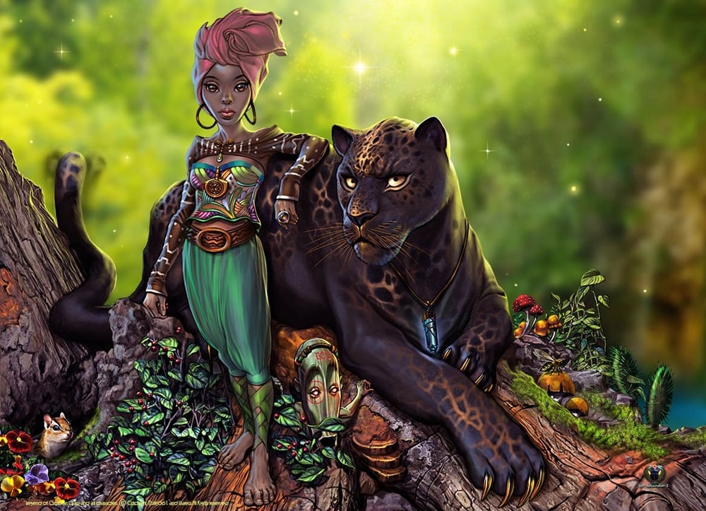 THE LEGEND OF GOLDENCLAW | ART BY MSHINDO KUUMBA I., STORY IN COLLABORATION WITH URAEUS