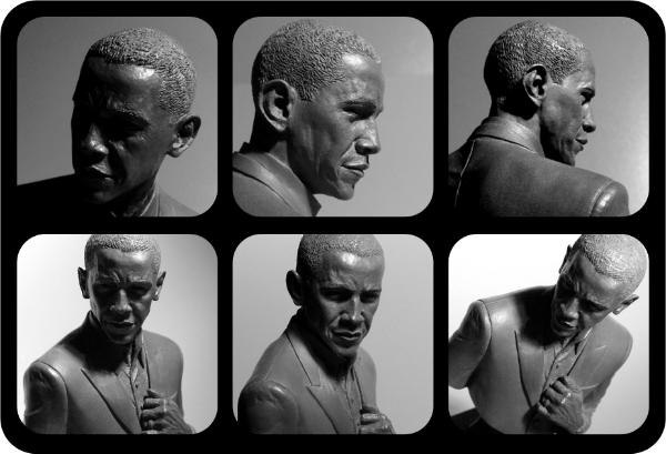 RENEGADE OBAMA BUST BY GREY WILLIAMSON & KILROY iII