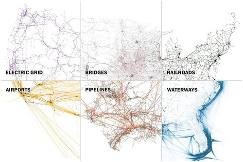 World maps do we know who we are carbon fibre media six maps that show the anatomy of americas vast infrastructure by tim meko gumiabroncs Choice Image