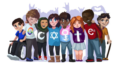 IMAGE SOURCE:  DOODLE 4 GOOGLE WINNER: SARA HARRISON