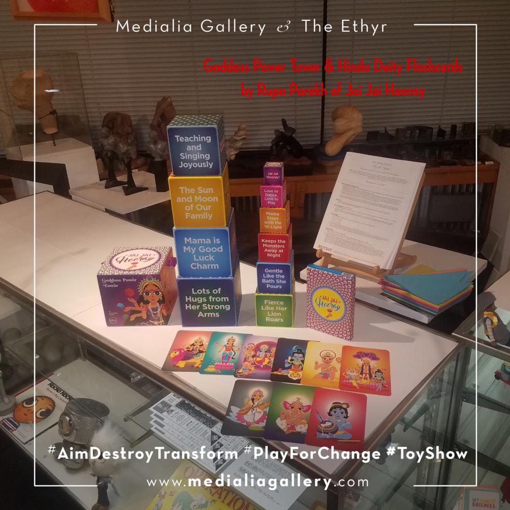 MedialiaGallery_The_Ethyr_AimDestroyTransform_Toy_Show_announcement_HinduDeityFlashcards_GoddessPowerTower_Jai_Jai_Hooray_November_2017.jpg.png