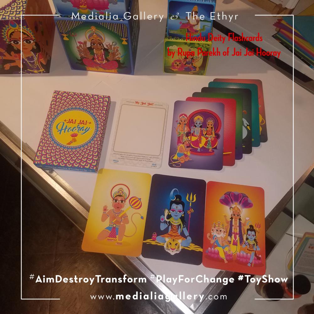MedialiaGallery_The_Ethyr_AimDestroyTransform_Toy_Show_announcement_HinduDeityFlashcards_Jai_Jai_Hooray_November_2017.jpg.png