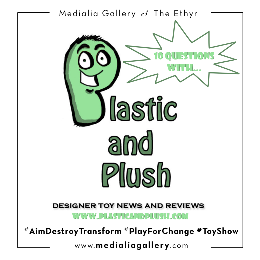 10 Questions with Tara Donahue by Plastic and Plush