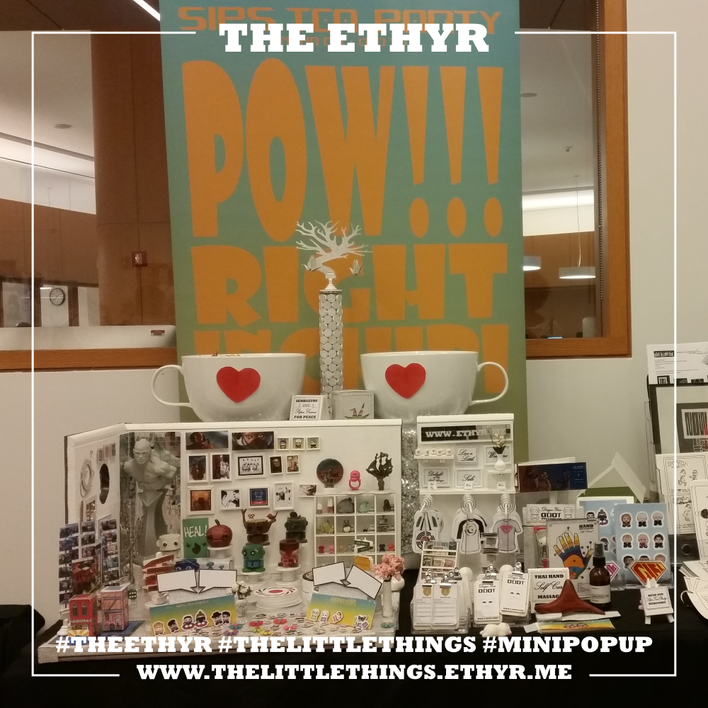 "POW!!! Right in the Chibi! ""The Little Things"" Mini Pop Up at WinCon2018"