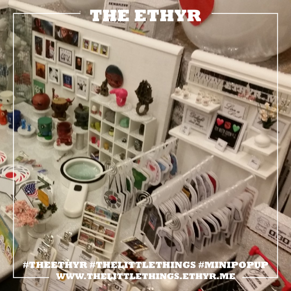 """The Little Things"" Mini Pop Up Gift Shop at WinCon2018"