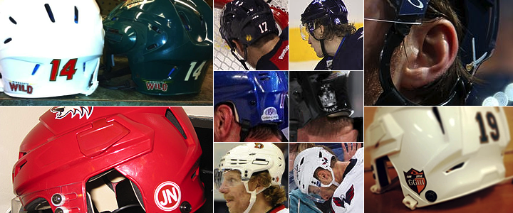 Nhl Logo Helmet Stickers