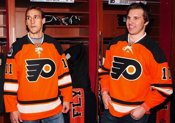 promo code 06520 26a93 Flyers Unveil Winter Classic Jersey — icethetics.co