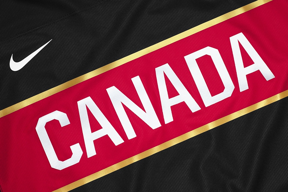 Say what you will about Canada in black, but this jersey will leave an impression.