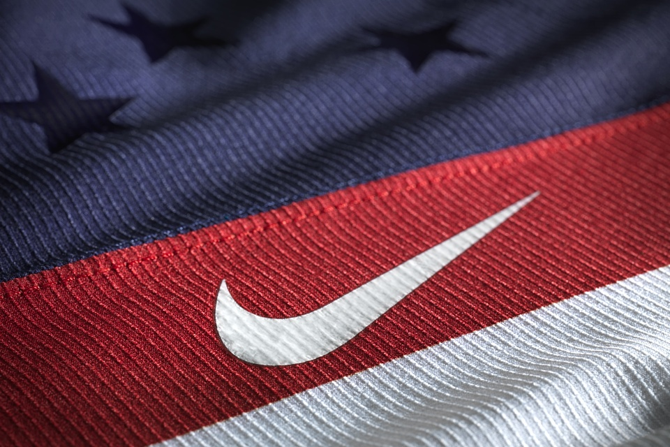 Nike wants you to notice the swoosh. I want you to notice the shiny stars.