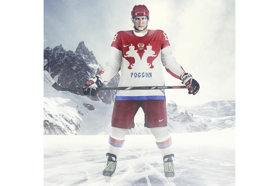 Top to bottom, Russia ended up with some great new uniforms.