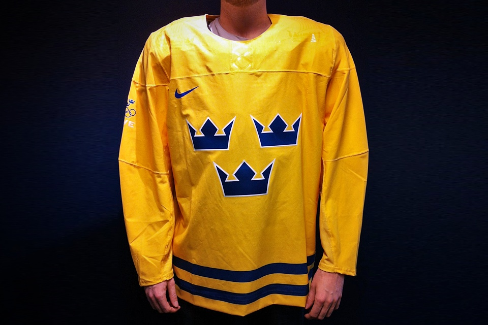 Tre Kronor released this photo on Oct. 25 via their Facebook page.