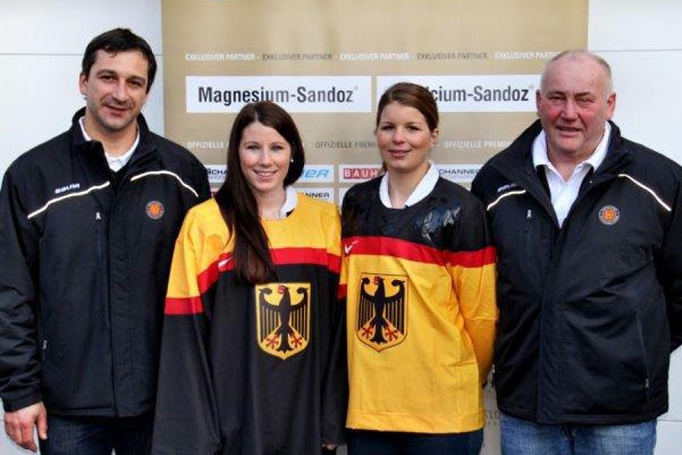 The German women's team will get to choose between black and gold for these Olympics.