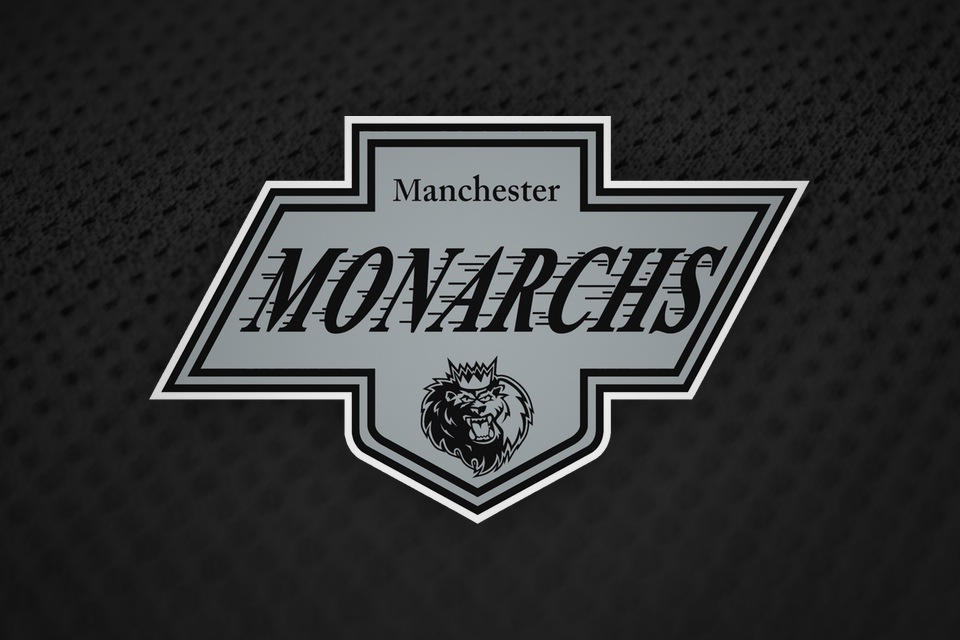 To promote Kings Night, the Monarchs used this L.A.-inspired  retro logo .