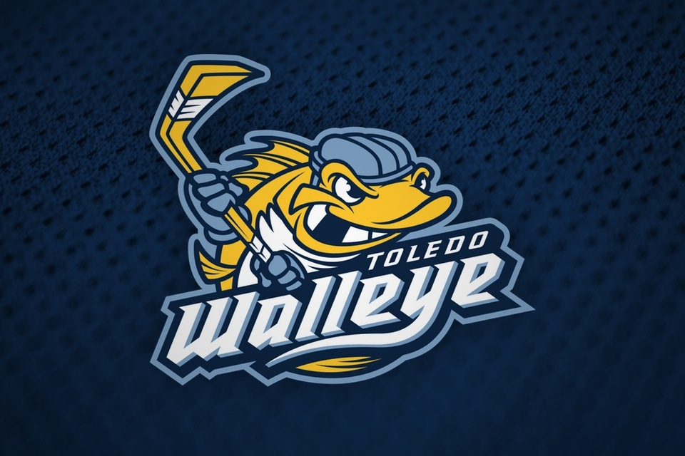 Toledo Walleye primary logo, 2009—