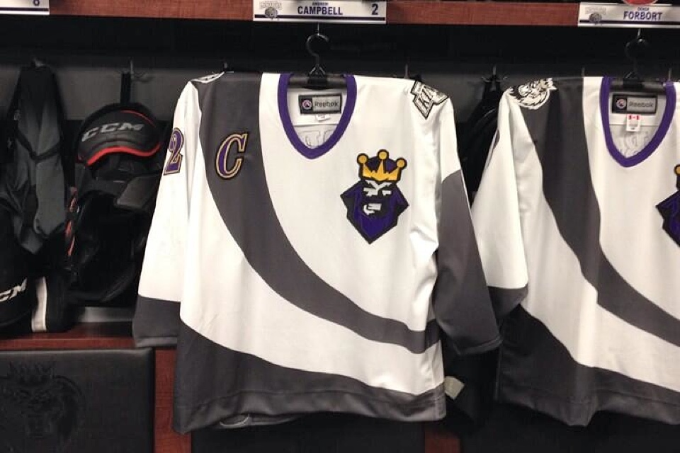 Monarchs captain Andrew Campbell  tweeted this photo  of his jersey.