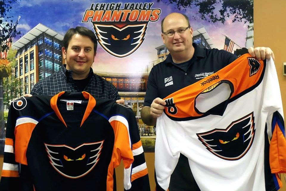 Photo from  Lehigh Valley Phantoms  via Facebook