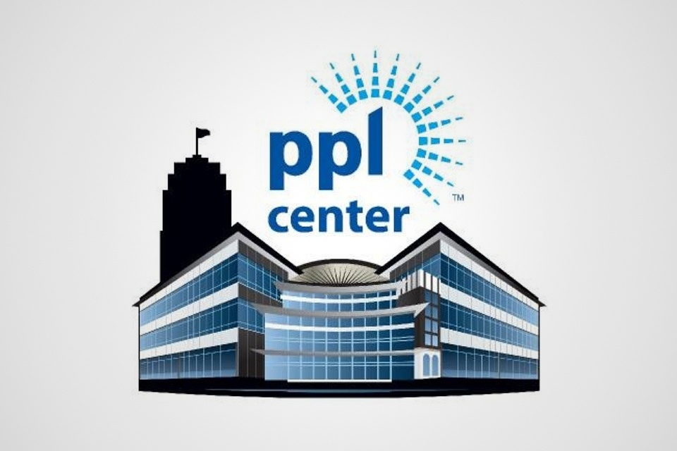 The PPL Center logo was unveiled July 24, 2013. It will be home to the Phantoms beginning Oct. 2014.