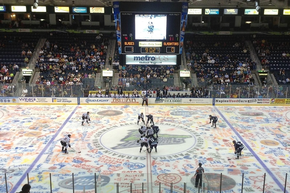 Photo from  Florida Everblades  via Facebook