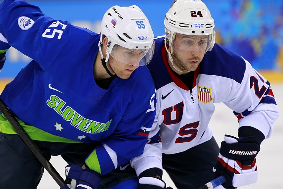 Can we take a moment to appreciate the distinctiveness of Slovenia's uniforms?