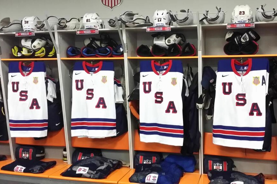 Photo from  USA Hockey  via Twitter
