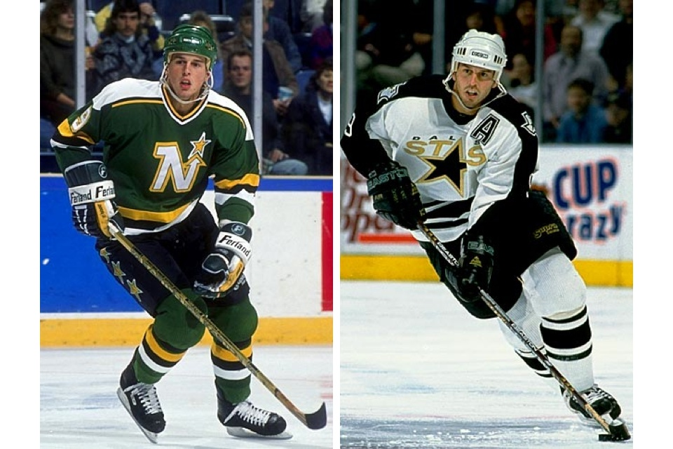 These were solid jerseys from Modano's career.