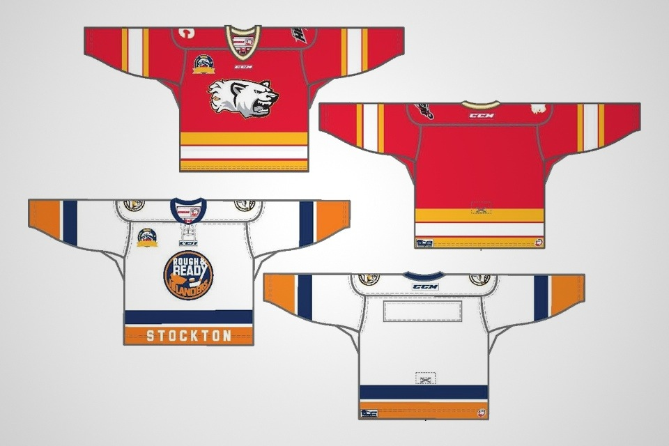 Jerseys unveiled  by ECHL  on Jan. 16