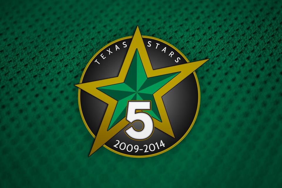Stars 5th anniversary logo (2013-14)