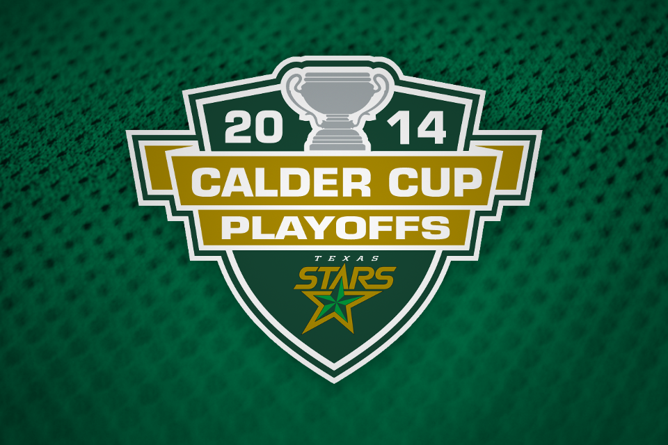Stars 2014 Calder Cup Playoffs custom logo