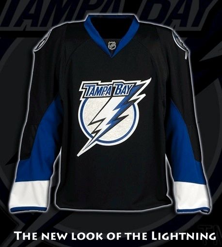 This is the actual Reebok Edge jersey design the Lightning went with in 2007.