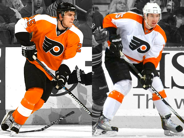Flyers home/road jerseys, 2010—