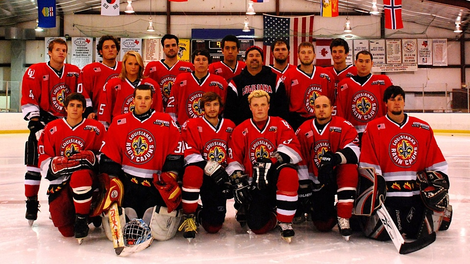 Photo from Ragin' Cajuns Ice Hockey