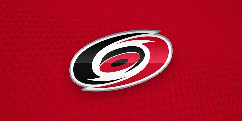Carolina Hurricanes, primary logo by Peter Thornburgh, 1997—