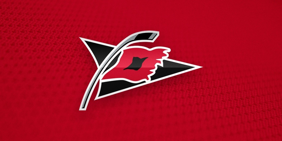 Carolina Hurricanes, secondary logo by Peter Thornburgh, 1997—