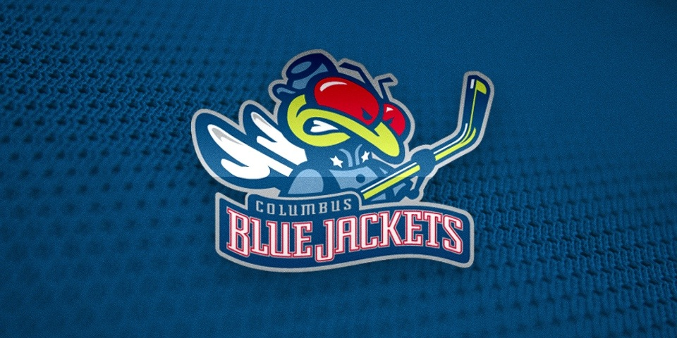 Columbus Blue Jackets logo by Ken Loh, 1997